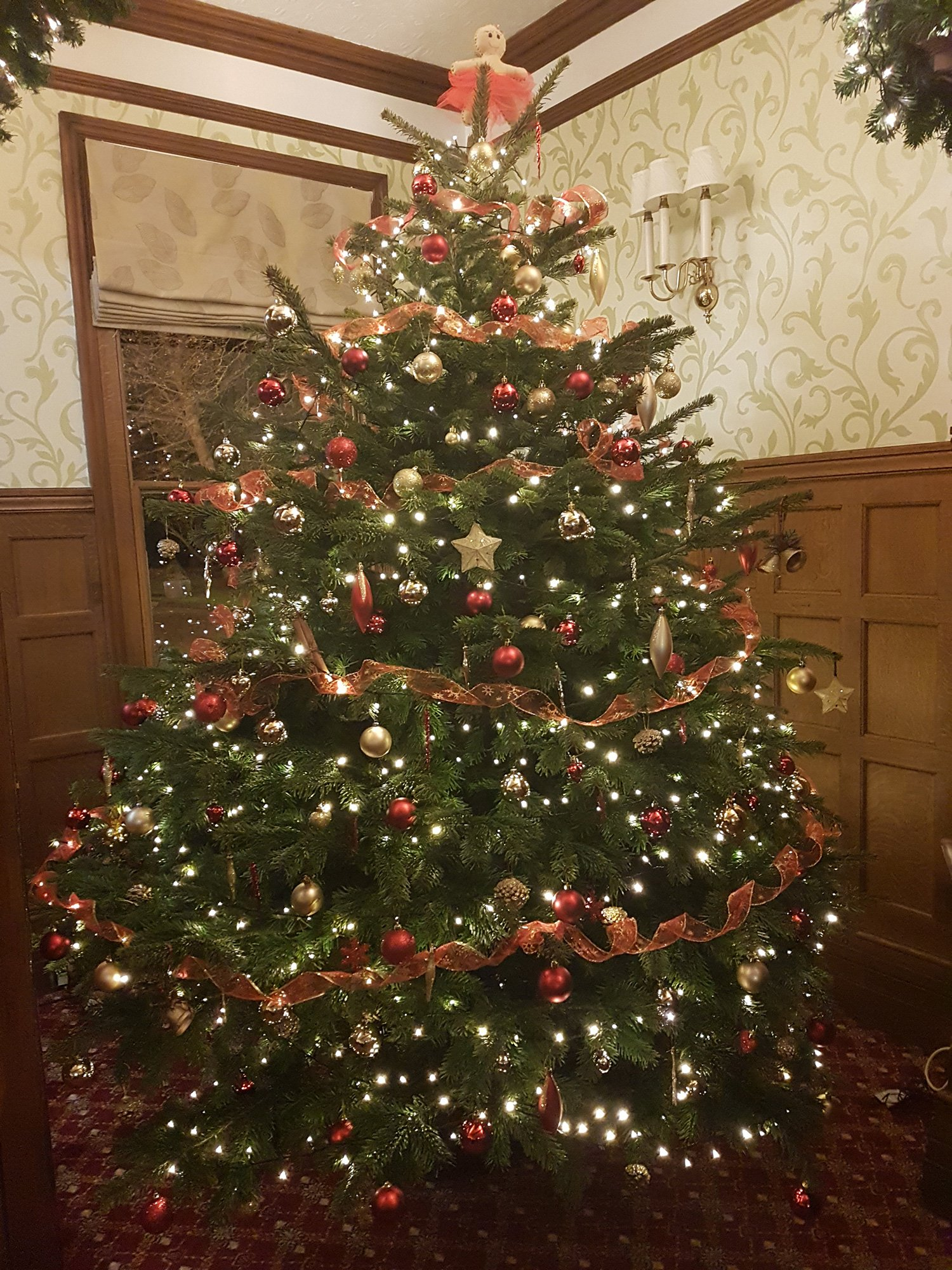 Woodland Manor is available for Christmas party venue hire