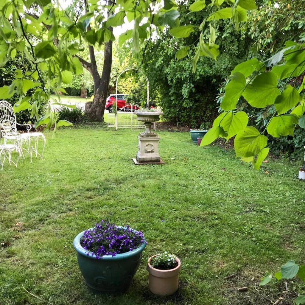 A pretty secret garden at Woodland Manor, a wedding venue Bedford