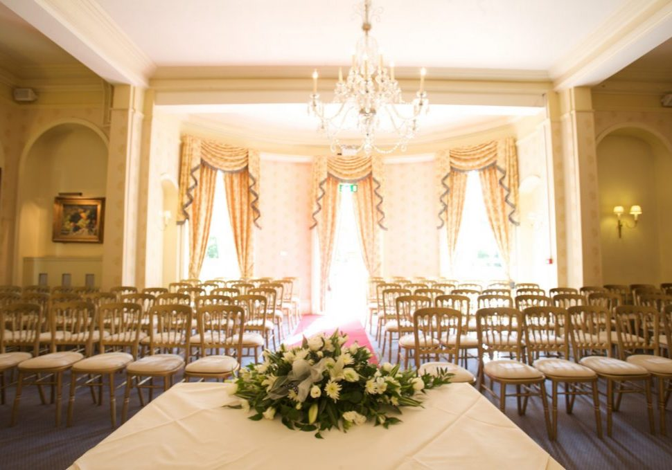 Woodland Manor is a wedding venue in Bedford