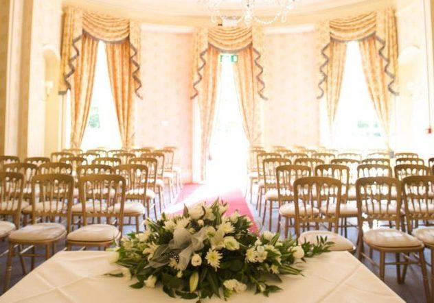 Woodland Manor is a wedding venue in Bedford